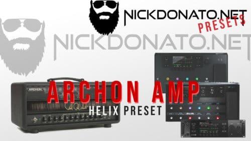 Archon Amp Helix Preset