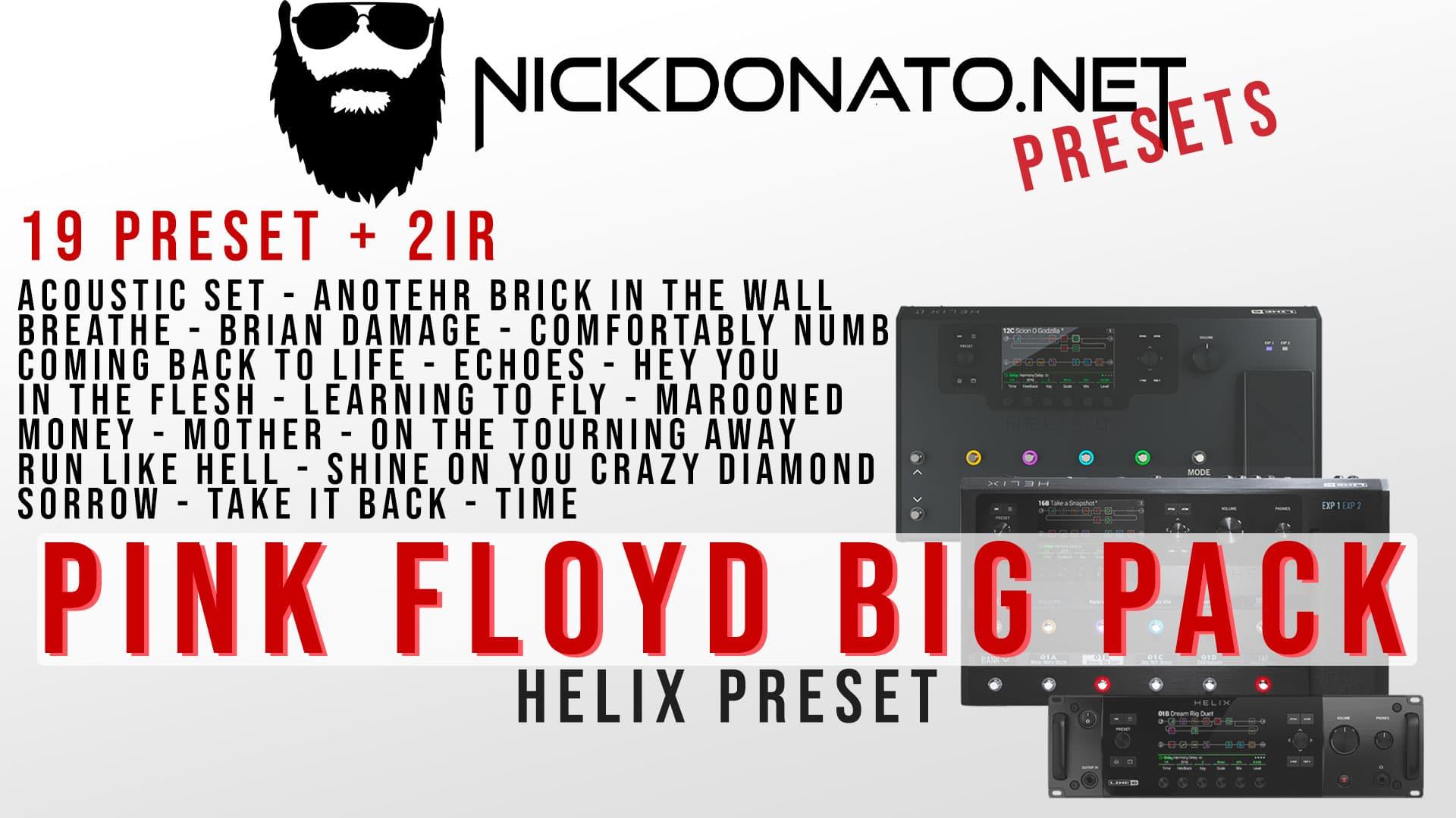Pink Floyd Helix Big Pack