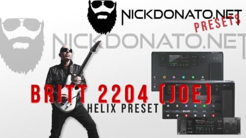 Brit 2204 Helix Preset