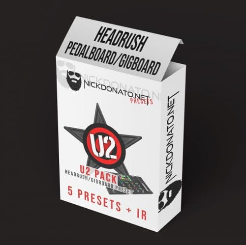 U2 Headrush Pack