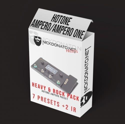 Heavy e Rock Hotone Ampero Pack