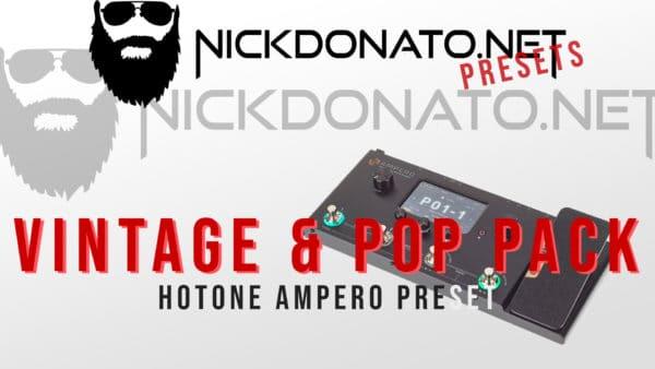 Vintage & Pop Hotone Ampero Pack