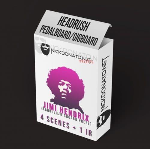 Jimi Hendrix Headrush Patch