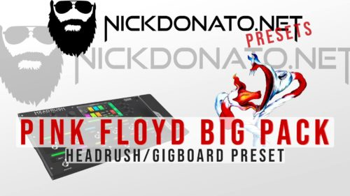 Pink Floyd Headrush Big Pack