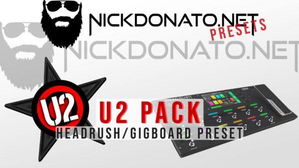 U2 Headrush Pack