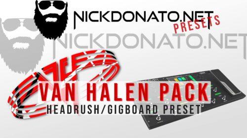 Van Halen Headrush Preset