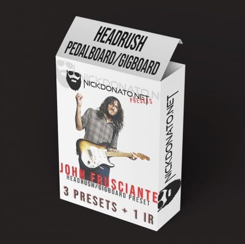 John Frusciante Headrush Pack