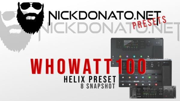 Whowatt Helix Preset