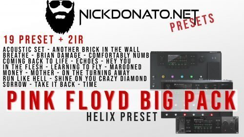 Pink Floyd Helix Big Pack