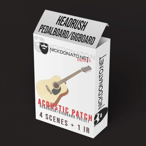 Headrush Acoustic Patch