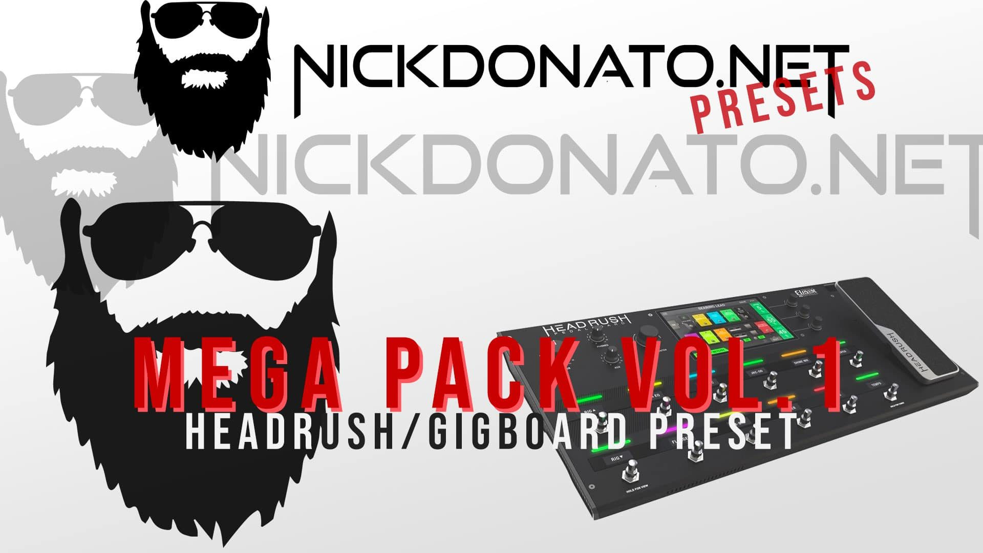 Big Pack Headrush vol 1